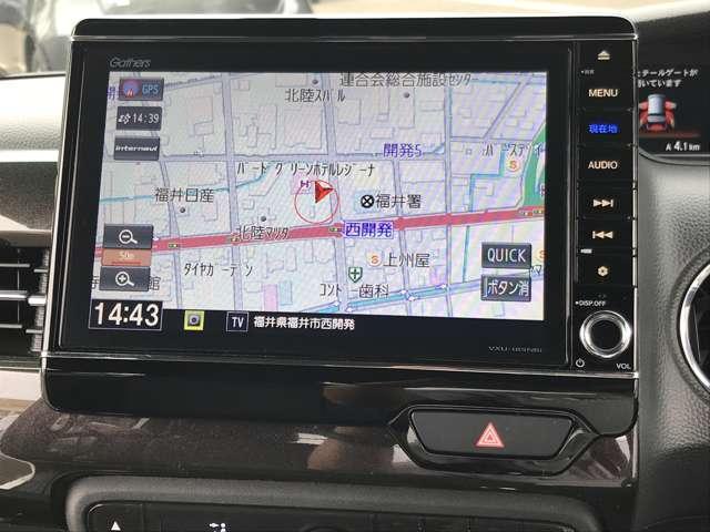 カスタム 660 G EX ホンダセンシング 4WD NAVI 両側電動スライドドア 衝突被害軽減ブレーキ ETC 4WD DVD バックモニター LED W電動ドア ナビ・TV メモリーナビ(6枚目)