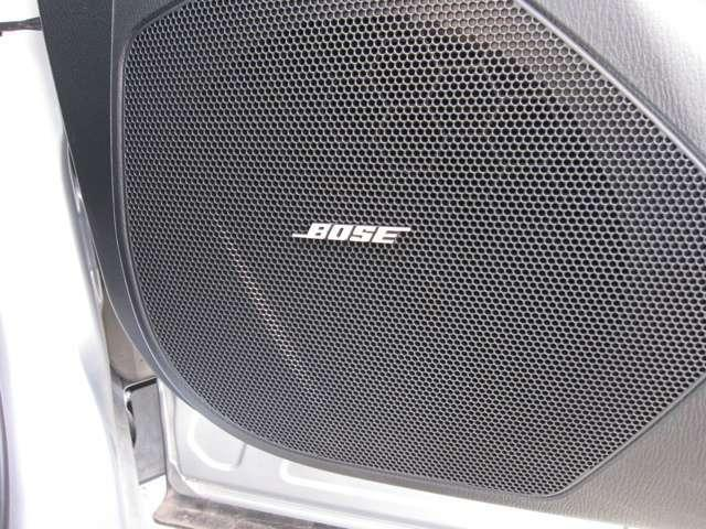 ☆BOSEサウンドシステムが、細部にわたり高音から低音までを、細部にわたって表現いたしますので、心地良いドライビング空間を演出します。ぜひ一度この音を確認するためにご来店下さいませ。☆
