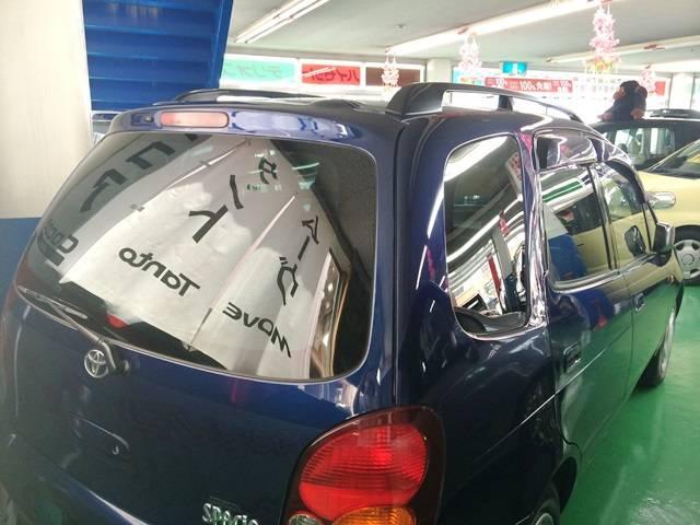 トヨタ カローラスパシオ 6人乗 回転シート エアバック