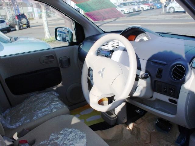 三菱 eKワゴン M 社外CD メッキドアミラー キーレス