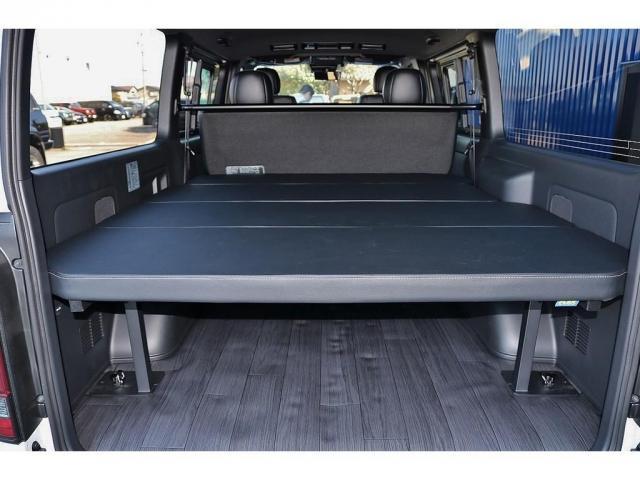 FLEXオリジナルベッドキット type2装着☆車中泊やちょっとしたくつろぐ空間などにピッタリです(^^♪
