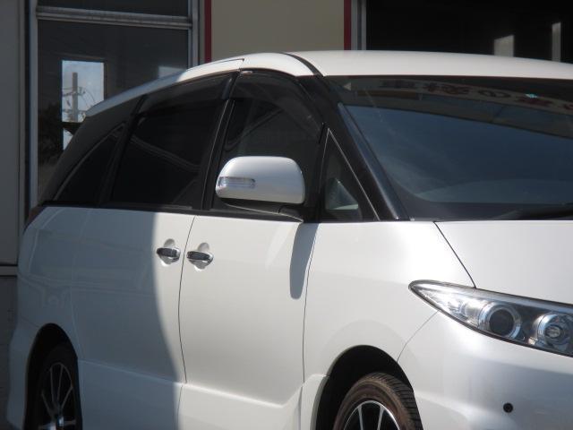 トヨタ エスティマ 2.4アエラス Gエディション HDDナビ 両側パワスラ