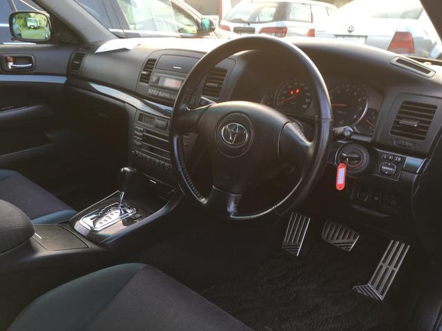 トヨタ マークIIブリット 2.0iR Four 4WD 純正アルミ キーレス CD