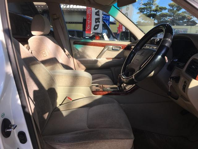 トヨタ クラウン ロイヤルサルーン パワーシート 純正15インチアルミ