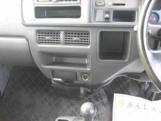 ハイルーフ 4WD F5速MT 13インチAW CD(17枚目)