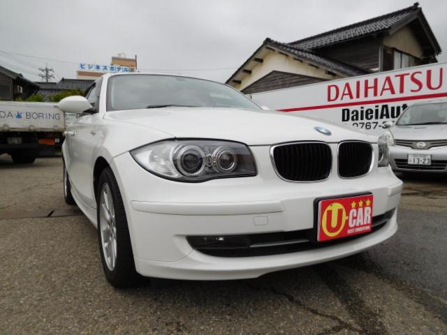 BMW BMW 116i 本革シート 社外ナビ フルセグTV イカリング白色