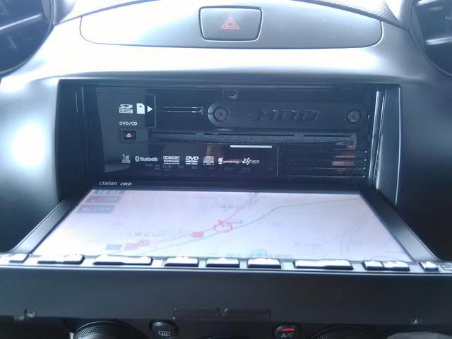 マツダ デミオ 13C-V スマートキー HID HDDナビ ワンセグ
