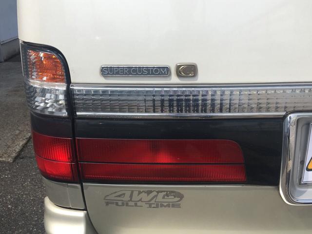トヨタ ハイエースワゴン スーパーカスタムG 4WD トリプルMR 4ナンバー登録可