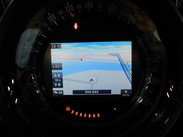 クーパーD クロスオーバー MINIナビゲーションPKG ナビ フルセグTV ミントパッケージ プッシュスタート HID LEDフォグ レインセンサー ETC 純正16AW(4枚目)