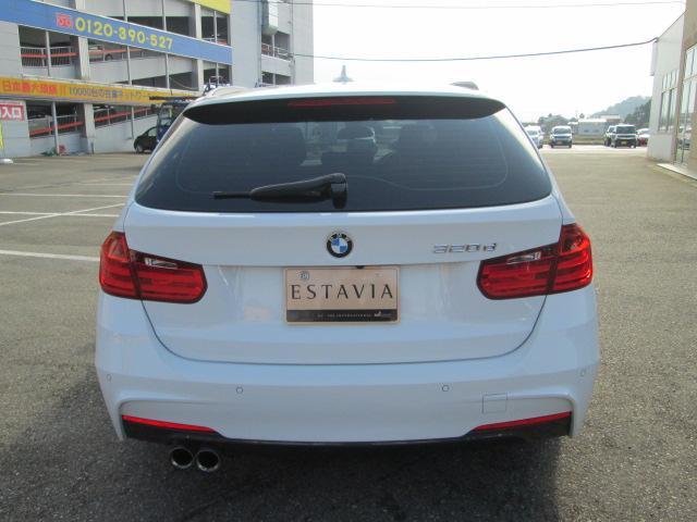 BMW BMW 320dツーリング Mスポーツ BBS製アルミ ローダウン