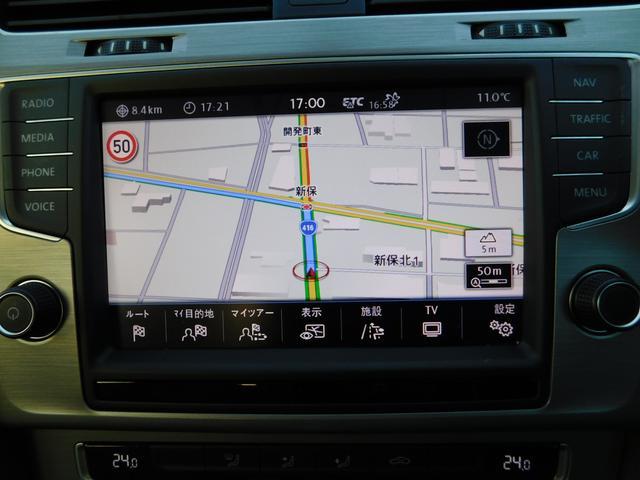 TSIコンフォートラインプレミアムエディション メモリーナビ フルセグTV Bカメラ CD DVD SD BTオーディオ USB 衝突軽減ブレーキ ISTOP ACC HIDオートライト ETC スマートキー 純正16AW(19枚目)