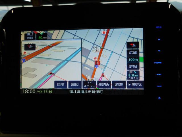 ハイブリッドMX 社外ナビ LEDオートライト シートヒーター アイドリング BT DVD ツートンルーフ AW16インチ(4枚目)