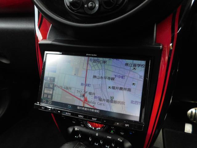 ジョンクーパーワークス クロスオーバー 4WD 社外SDナビ フルセグTV ブルートゥースオーディオ DVD視聴 CD オートHID クルーズコントロール バックカメラ ETC 純正18インチアルミホイール(9枚目)