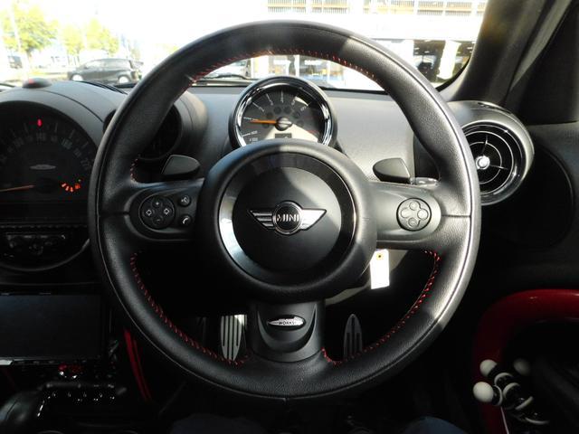ジョンクーパーワークス クロスオーバー 4WD 社外SDナビ フルセグTV ブルートゥースオーディオ DVD視聴 CD オートHID クルーズコントロール バックカメラ ETC 純正18インチアルミホイール(14枚目)