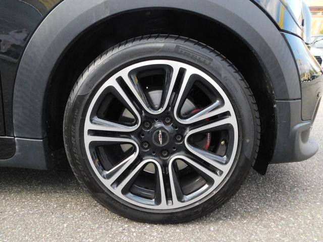ジョンクーパーワークス クロスオーバー 4WD 社外SDナビ フルセグTV ブルートゥースオーディオ DVD視聴 CD オートHID クルーズコントロール バックカメラ ETC 純正18インチアルミホイール(39枚目)