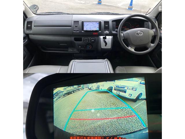 ロングDX GLパッケージ 車中泊用ベットキット新品 スタッドレスタイヤ中古付き ディーゼルターボ4WD スーパーGL純正リアシート TRDアルミ&BFグットリッチ スライドドア換気用小窓付 Bモニター内蔵ルームミラ Fスポイラ(6枚目)