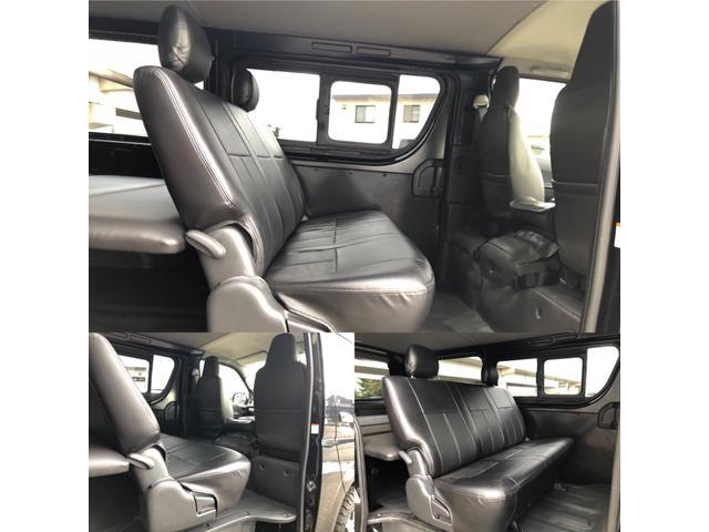 ロングDX GLパッケージ 車中泊用ベットキット新品 スタッドレスタイヤ中古付き ディーゼルターボ4WD スーパーGL純正リアシート TRDアルミ&BFグットリッチ スライドドア換気用小窓付 Bモニター内蔵ルームミラ Fスポイラ(13枚目)