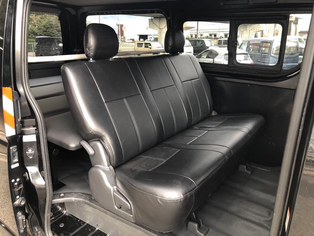 ロングDX GLパッケージ 車中泊用ベットキット新品 スタッドレスタイヤ中古付き ディーゼルターボ4WD スーパーGL純正リアシート TRDアルミ&BFグットリッチ スライドドア換気用小窓付 Bモニター内蔵ルームミラ Fスポイラ(34枚目)