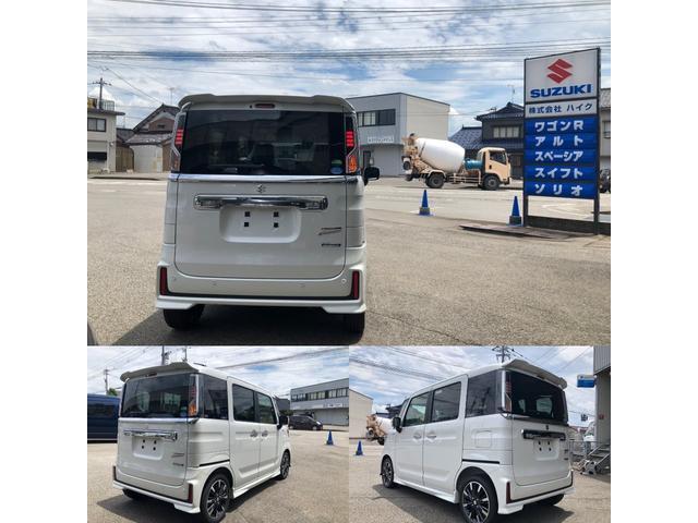 「スズキ」「スペーシアカスタム」「コンパクトカー」「富山県」の中古車3