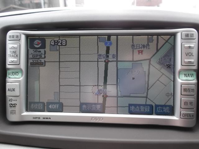 トヨタ カローラフィールダー X DVDナビ バックカメラ CD ETC 電動格納ミラー