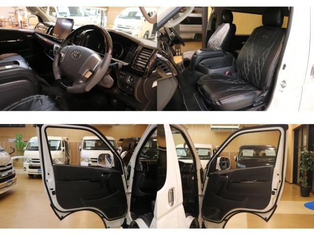 GL ファインテックツアラー トヨタ車体 キャプテンシート(12枚目)