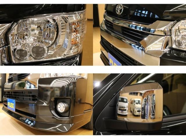 LEDヘッドライトやリップスポイラーといったフェイスのオプション充実☆サイドミラーも新仕様です♪