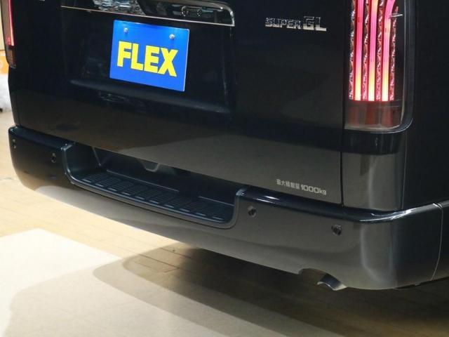 スーパーGL ダークプライムII ロングボディ FLIPUPベッドキット+大画面ナビ/1.5インチローダウン/新品17インチAW/FLEXリップスポイラー/ナスカータイヤ/ETC/LEDテールランプ/FLEXオーバーフェンダー(8枚目)