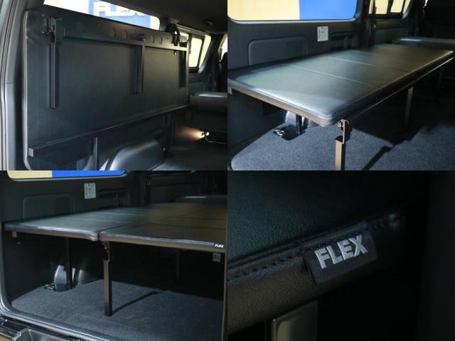 スーパーGL ダークプライムII ロングボディ FLIPUPベッドキット+大画面ナビ/1.5インチローダウン/新品17インチAW/FLEXリップスポイラー/ナスカータイヤ/ETC/LEDテールランプ/FLEXオーバーフェンダー(18枚目)