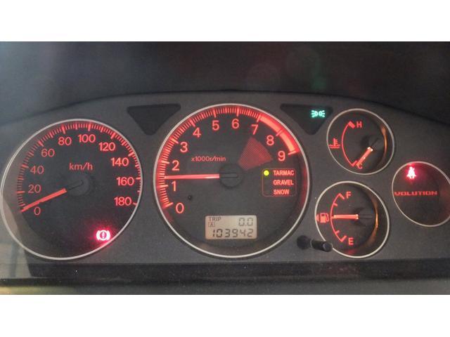 三菱 ランサー GSRエボリューションVII フジツボマフラー 純正レカロ