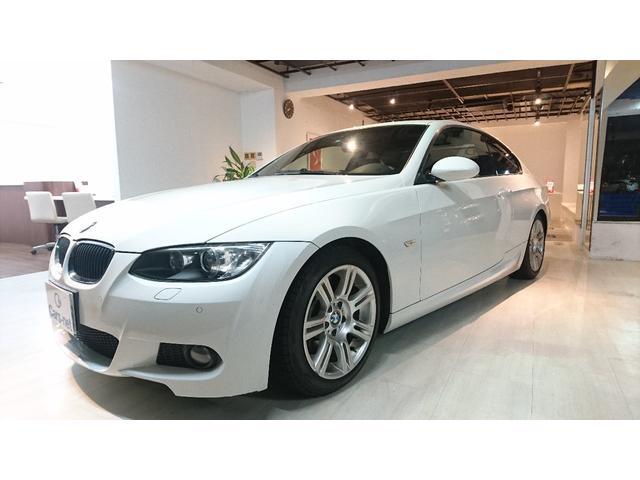 BMW BMW 335i クーペ Mスポーツパッケージ SR 黒レザー 左H