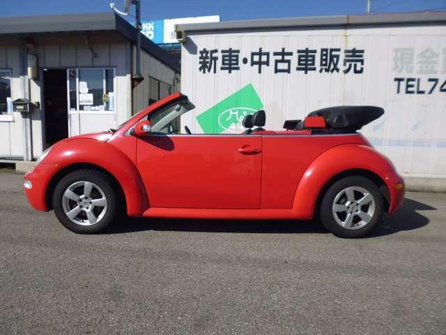 「フォルクスワーゲン」「ニュービートルカブリオレ」「オープンカー」「富山県」の中古車3