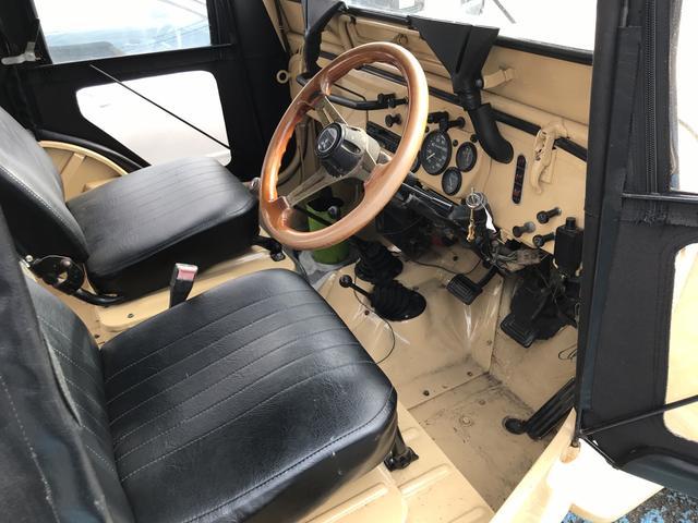 キャンバストップ4WD J58 4速マニュアル車(4枚目)