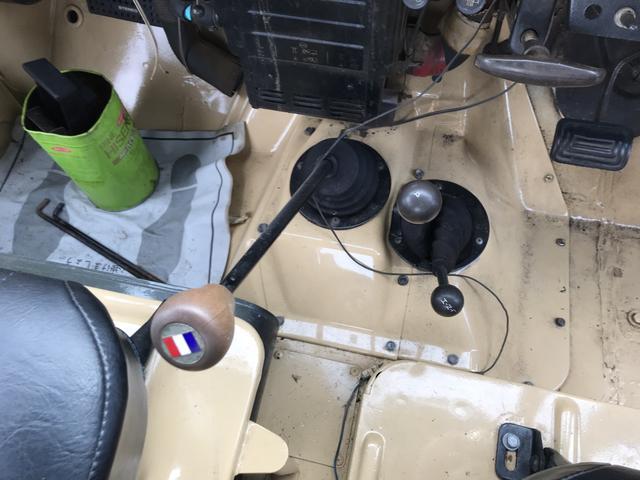 キャンバストップ4WD J58 4速マニュアル車(8枚目)