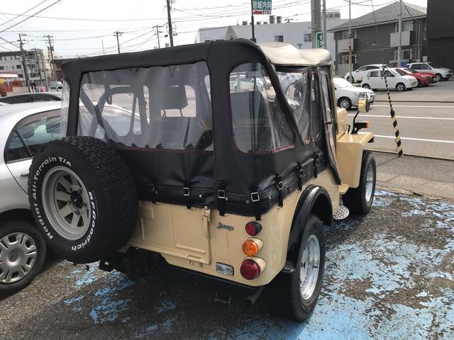 キャンバストップ4WD J58 4速マニュアル車(15枚目)
