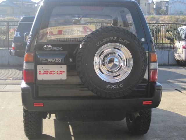 背面タイヤも新品アルミ・MTタイヤ!