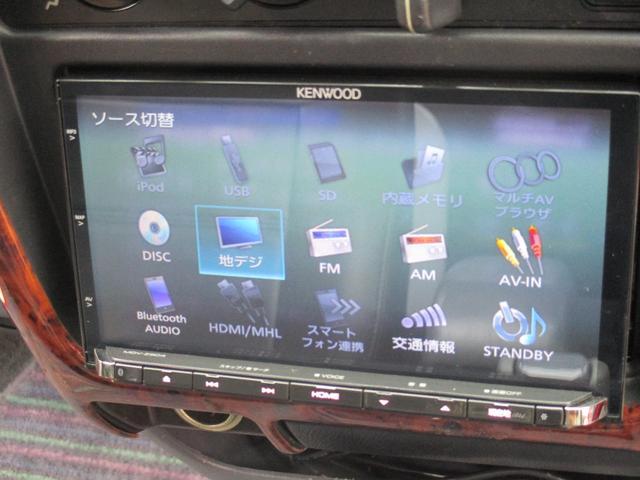 エクストラキャブ ワイド 4WD ナビ フルセグTV ETC(9枚目)