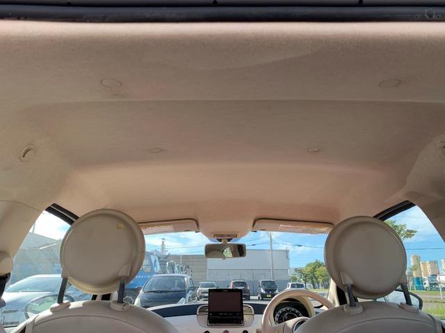 1.2 8V ポップ チンクエチェント ビルシュタイン車高調 16インチOZホイール フルセグナビ キーレス デュアロジックミッション(オートシフト5速マニュアル)(12枚目)