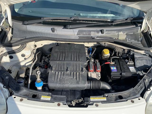 1.2 8V ポップ チンクエチェント ビルシュタイン車高調 16インチOZホイール フルセグナビ キーレス デュアロジックミッション(オートシフト5速マニュアル)(17枚目)