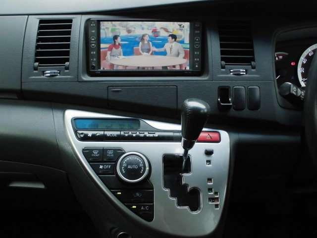 トヨタ アイシス プラタナ HDDナビ フルセグ ETC 純正AW 後期モデル