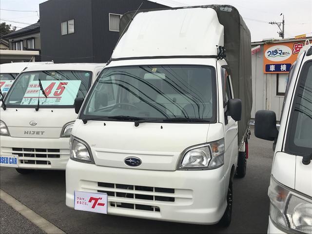 4WD 幌 AC MT 軽トラック TV ナビTV キーレス(3枚目)