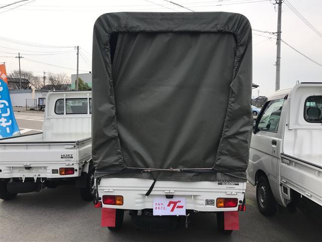 4WD 幌 AC MT 軽トラック TV ナビTV キーレス(5枚目)