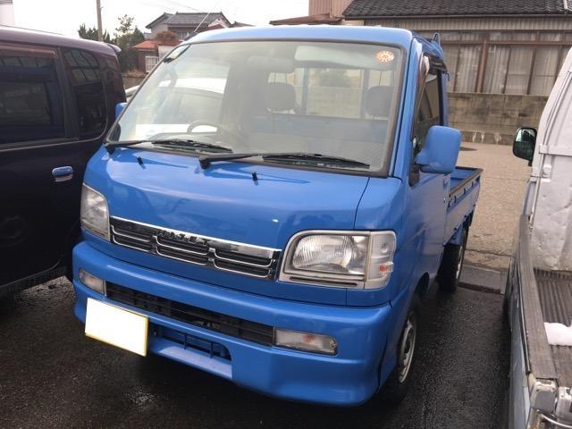 4WD マニュアル車 三方開 軽トラック 軽トラ 四駆(2枚目)