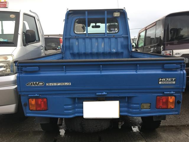 4WD マニュアル車 三方開 軽トラック 軽トラ 四駆(3枚目)