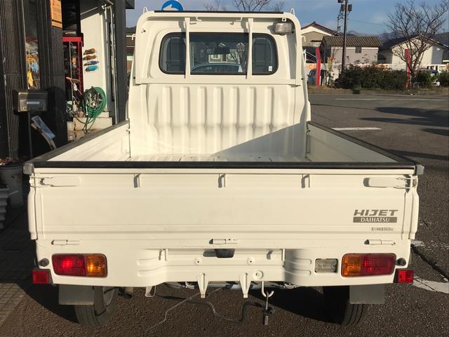 4WD エアコン パワステ マニュアル車 軽トラック 三方開(4枚目)