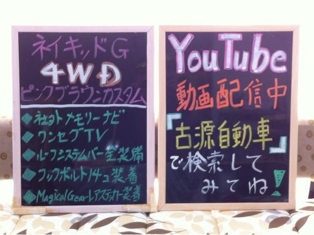 G オリジナルカスタムアレンジ ナビ地デジTV(2枚目)