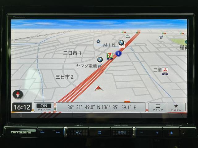 FX 社外 8インチ メモリーナビ/ETC/EBD付ABS/横滑り防止装置/アイドリングストップ/TV/エアバッグ 運転席/エアバッグ 助手席/パワーウインドウ/キーレスエントリー/オートエアコン(9枚目)