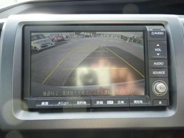バックカメラも装備されています。駐車もこれで安心ですね!