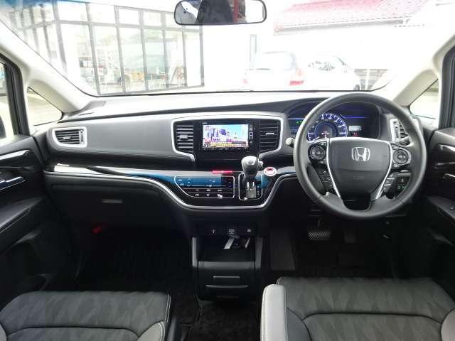 ハイブリッドアブソルート・ホンダセンシング 当社元デモカー HondaSENSING フルセグナビ(9枚目)