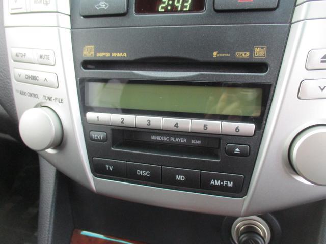 トヨタ ハリアー 240G後期HDDナビDVDカメラ禁煙ETC17AWステリモ