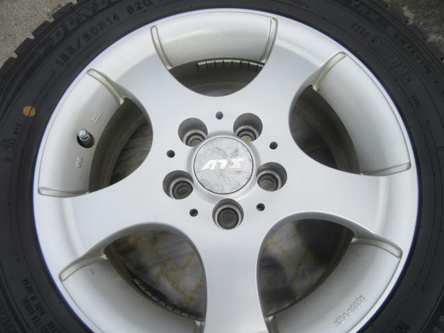 ATS 185/60R14 スタッドレスタイヤアルミセット ダンロップ ウインターマックス01 2017年12月製造